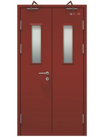木质防火门门框固定方法?